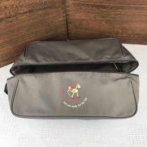 Reshapeable Soft Makeup Cube Travel Organizer Bag